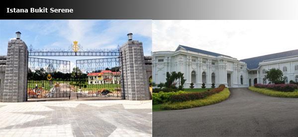 Istana Bukit Serene visit