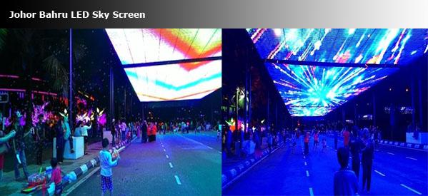 JB LED screen trip