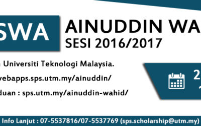 Tan Sri Ainuddin Wahid Scholarship