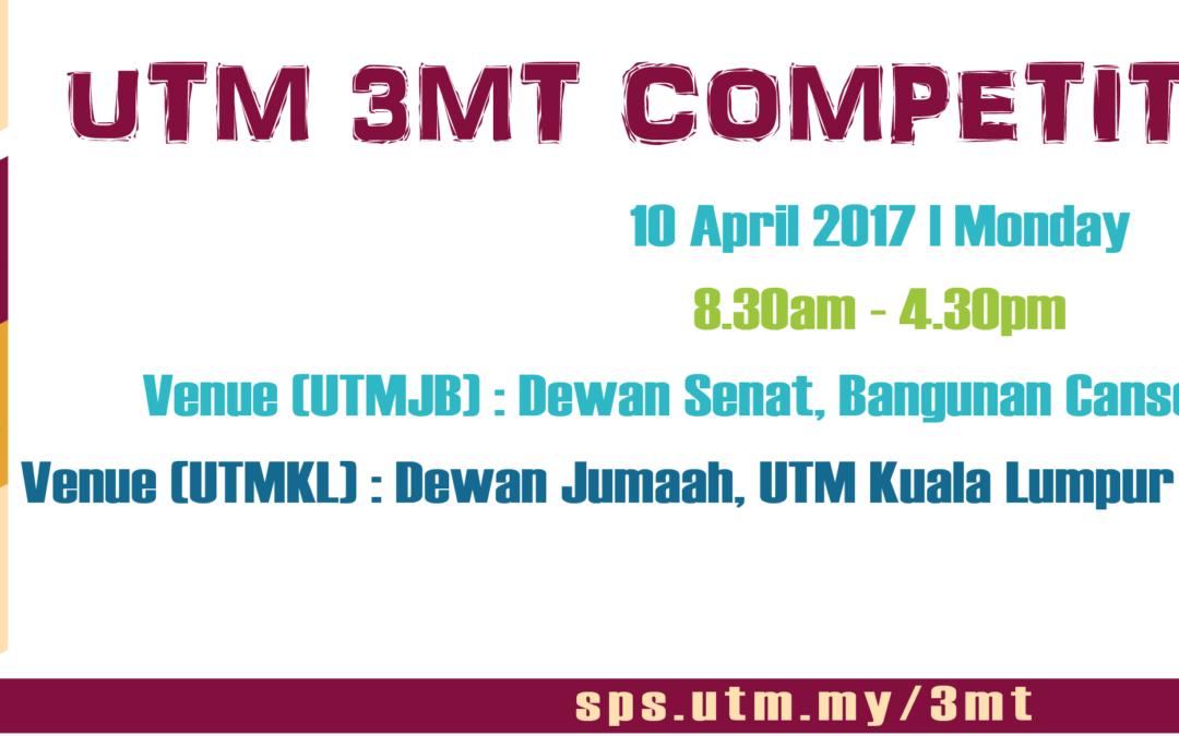 UTM 3MT Competition 2017