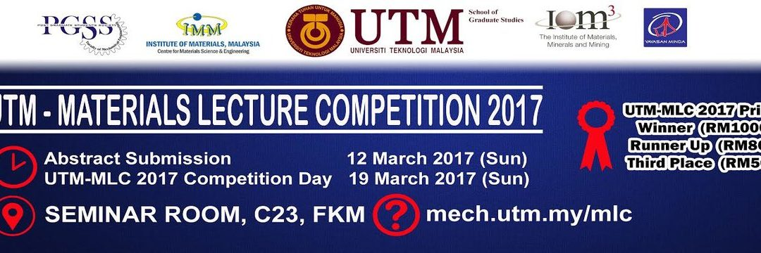 UTM – Materials Lecture Competition 2017