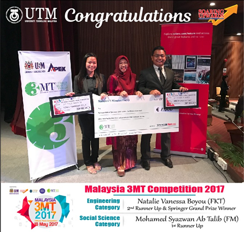 Malaysia 3MT Competition 2017