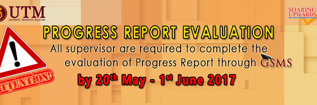 Progress Report Evaluation