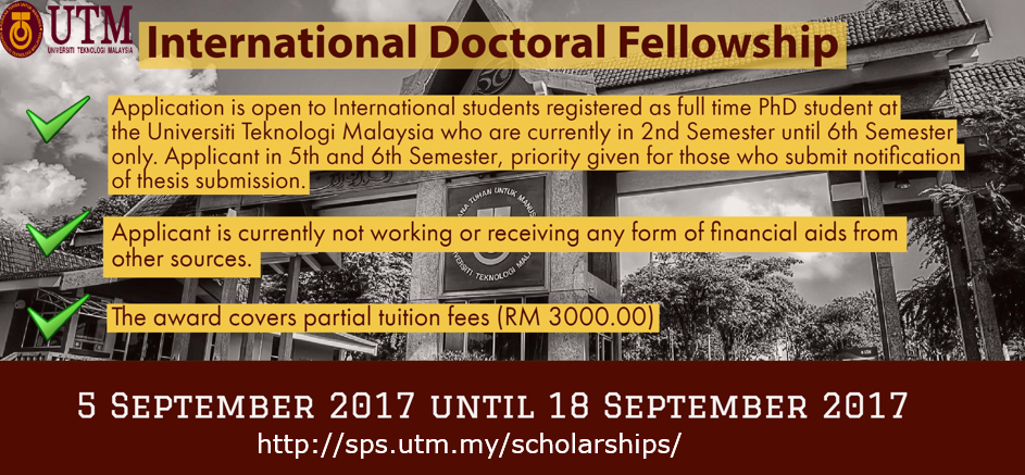 International Doctoral Fellowship